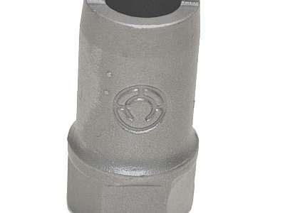 Pinça pneumática abertura angular