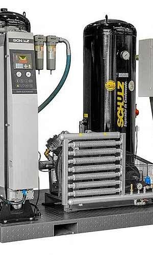 Aluguel de compressor de ar industrial