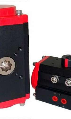 atuador rotativo pneumático