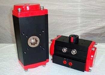 Atuadores pneumaticos e hidraulicos