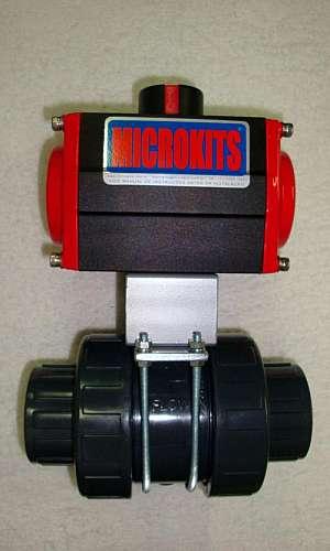 Atuadores pneumáticos para válvulas