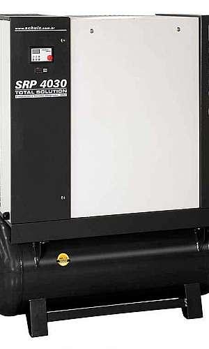 Compressor de ar parafuso com secador