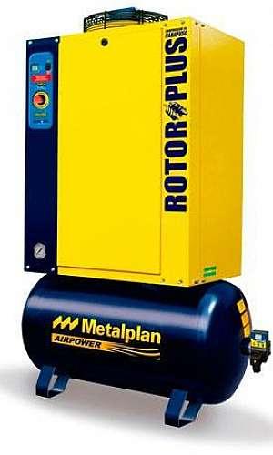 Compressor de ar parafuso rotor plus