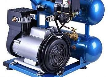 Compressor de ar com dois pistão
