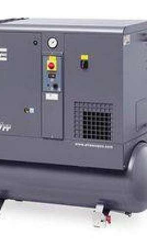 Compressor de Parafuso Simples