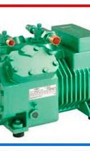 Compressor semi hermético alternativo