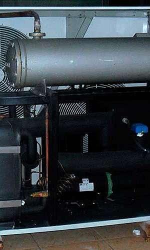 Compressores para refrigeração industrial