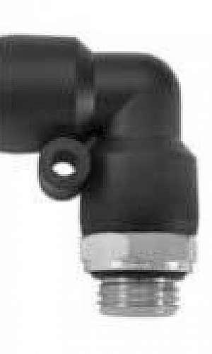 Conexão pneumática rotativa