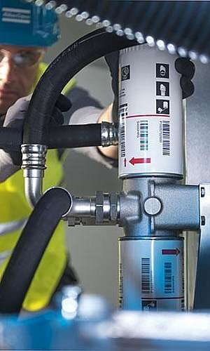 Conserto de compressor parafuso