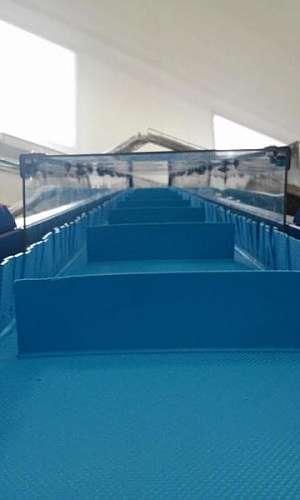 Fabricante de esteiras horizontal em SBC