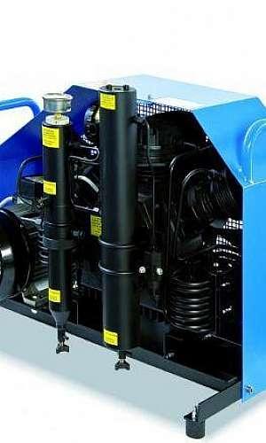 locação de compressor de alta pressão