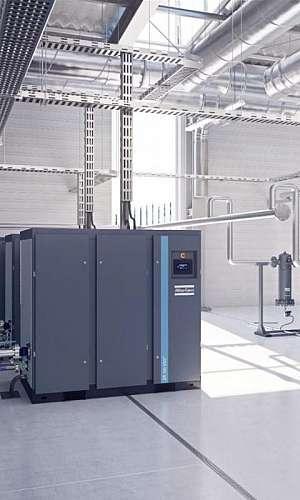 Locação de compressor de ar parafuso