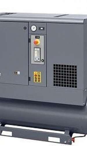 Locação de compressor parafuso