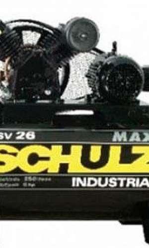 Manutenção compressor de ar Schulz