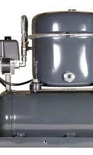 Manutenção compressor parafuso industrial