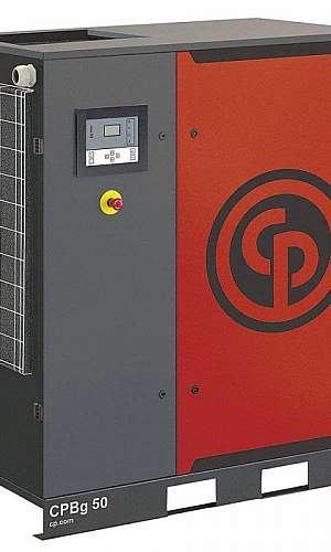 Manutenção de compressor tipo parafuso industrial