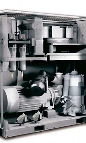Manutenção de compressores de ar comprimido