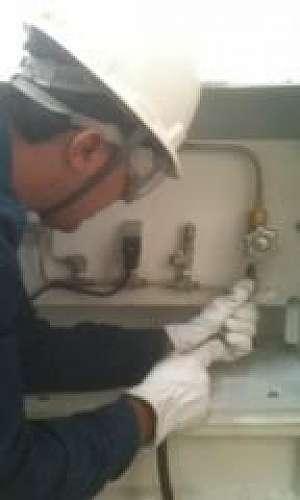 Manutenção de compressores parafuso