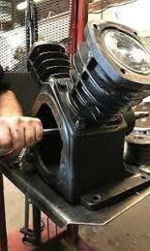 manutenção em compressores de ar comprimido
