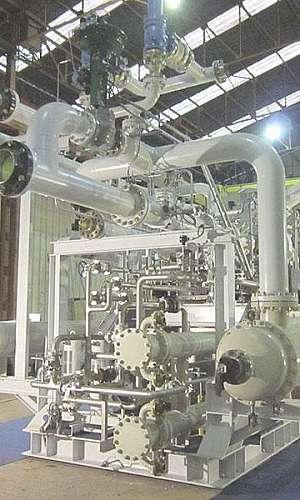 Manutenção preventiva de compressores