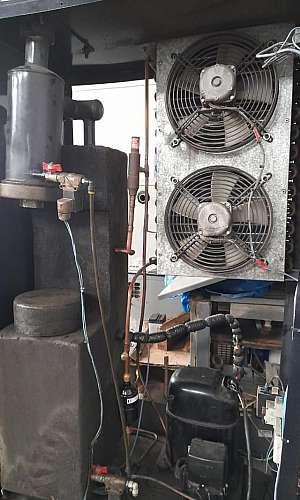 Manutenção preventiva de secador de ar comprimido