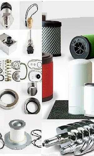 Peças para compressor de ar parafuso industrial