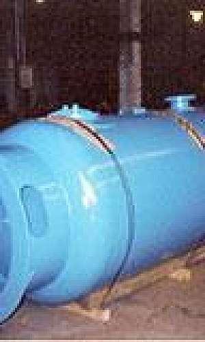 Reservatórios de ar comprimido